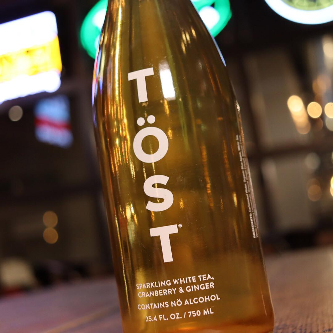 Tost NON- ALCOHOLIC Sparkling White Tea Wine New York 750ml