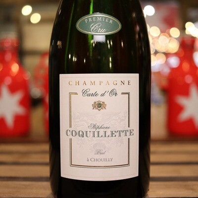 Stephane Coquillette Brut Champagne France 750ml.