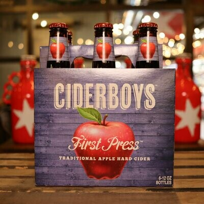 Ciderboys First Press 12 FL. OZ. 6PK