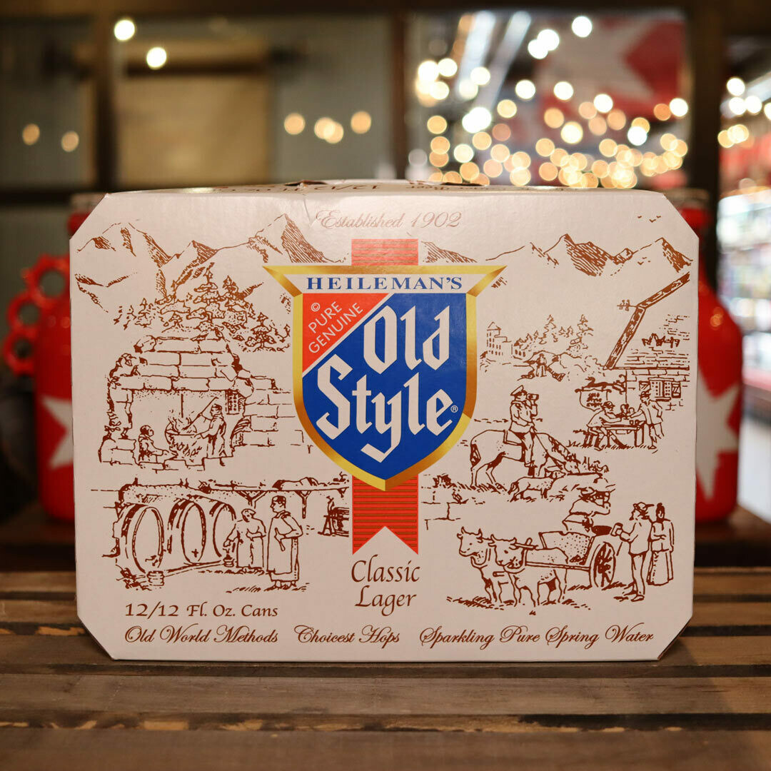 Old Style Lager 12 FL. OZ. 12PK Cans