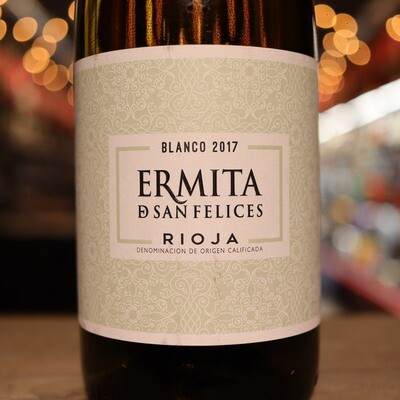 Ermita San Felices Rioja Blanco Spain 750ml.