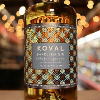 Koval Barreled Gin 750ml.