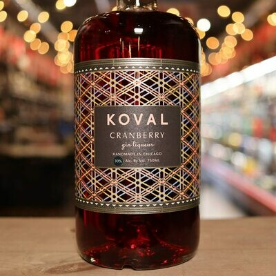 Koval Gin Cranberry 750ml.