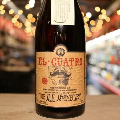 The Ale Apothecary El Cuatro 750ml.
