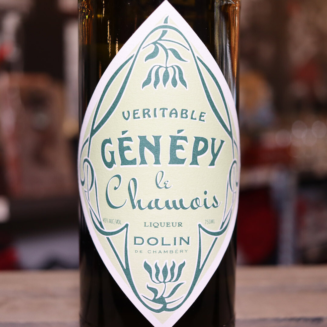Dolin Veritable Genepy le Chamois Liqueur 750ml.