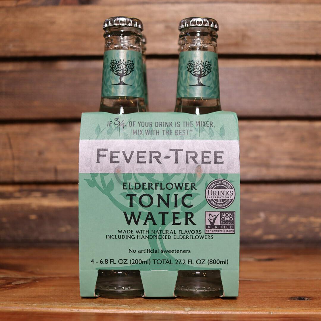 Fever Tree Tonic Elderflower200ml. 4PK