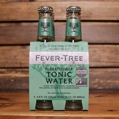Fever Tree Tonic Elderflower 6.8 FL. OZ. 4PK