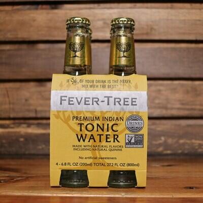 Fever Tree Tonic Premium Indian 6.8 FL. OZ. 4PK