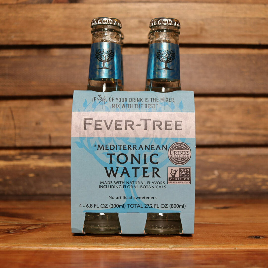 Fever Tree Tonic Mediterranean 200ml. 4PK