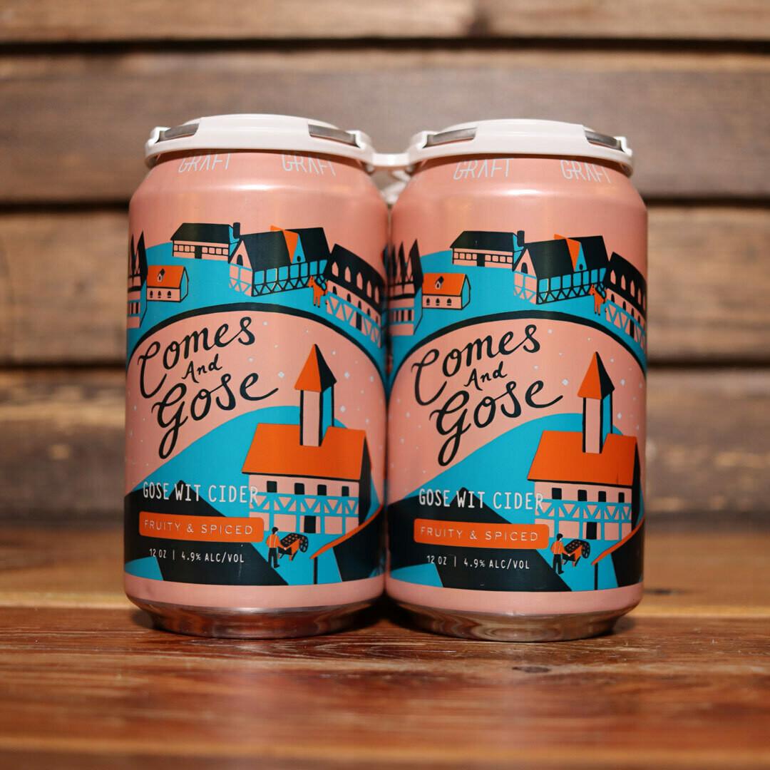 Graft Cider Comes & Gose 12 FL. OZ. 4PK Cans