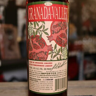 Granada Vallet Liqueur 750ml.