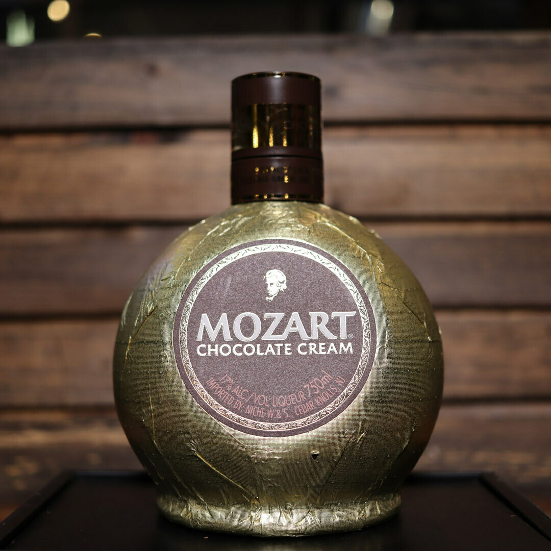 Mozart Chocolate Cream Liqueur 750ml.