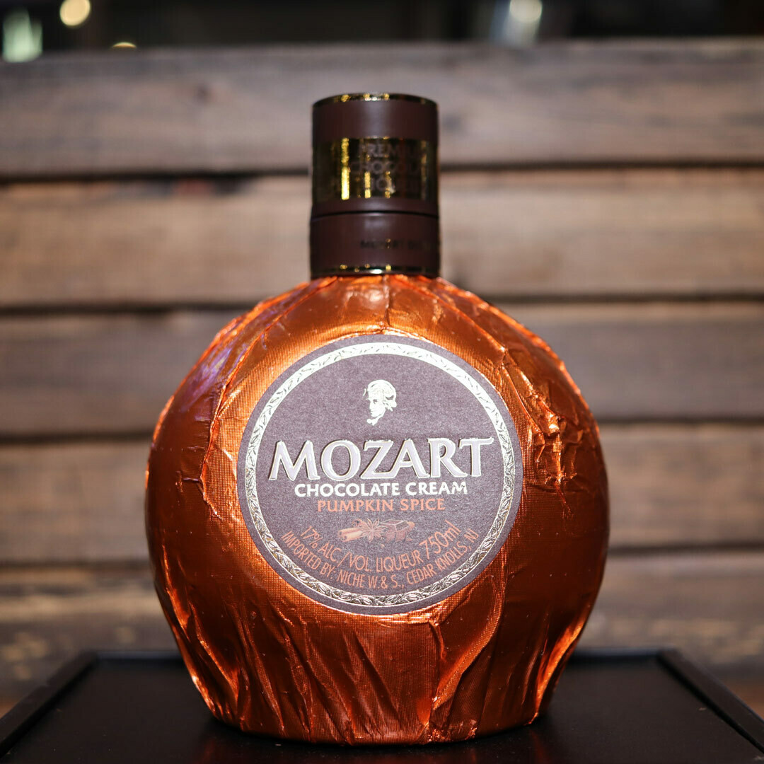 Mozart Chocolate Pumpkin Spice Liqueur 750ml.