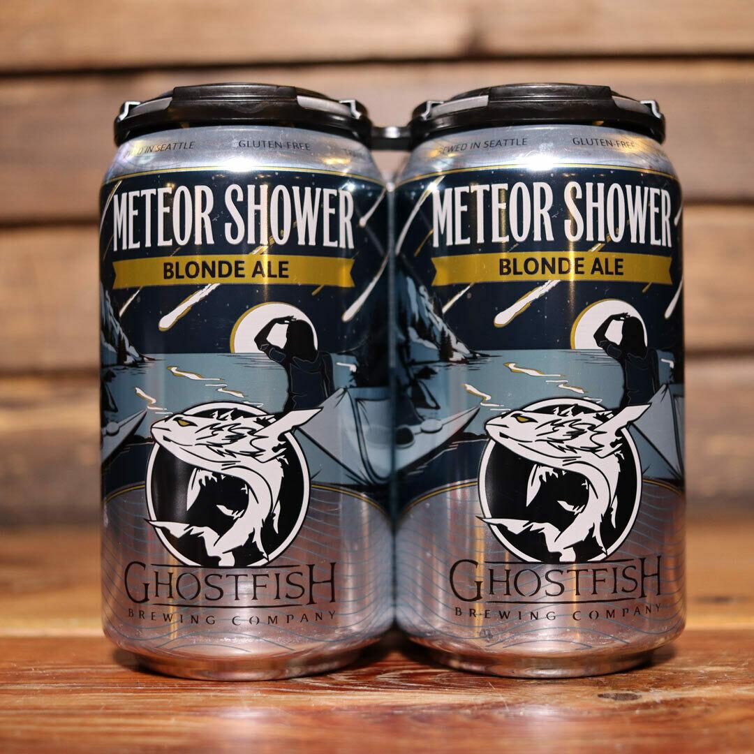 Ghostfish Meteor Shower Gluten Free Blonde Ale 12 FL. OZ. 4PK Cans