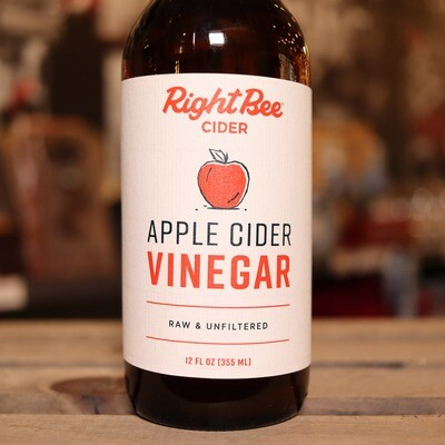 Right Bee Cider Apple Cider Vinegar 12 FL. OZ. 1 Ea.