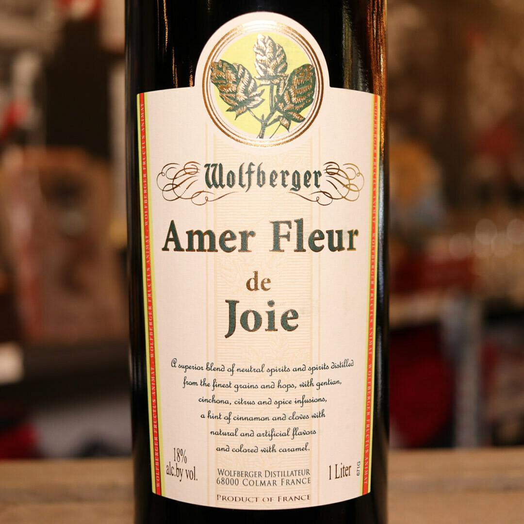 Wolfberger Amer Fleur De Joie 33.81 FL. OZ.