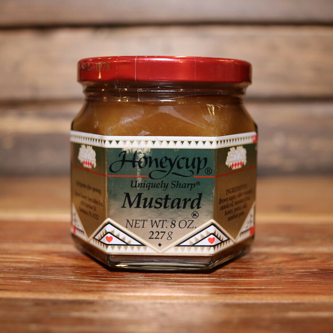 Honeycup Sharp Mustard 8oz.