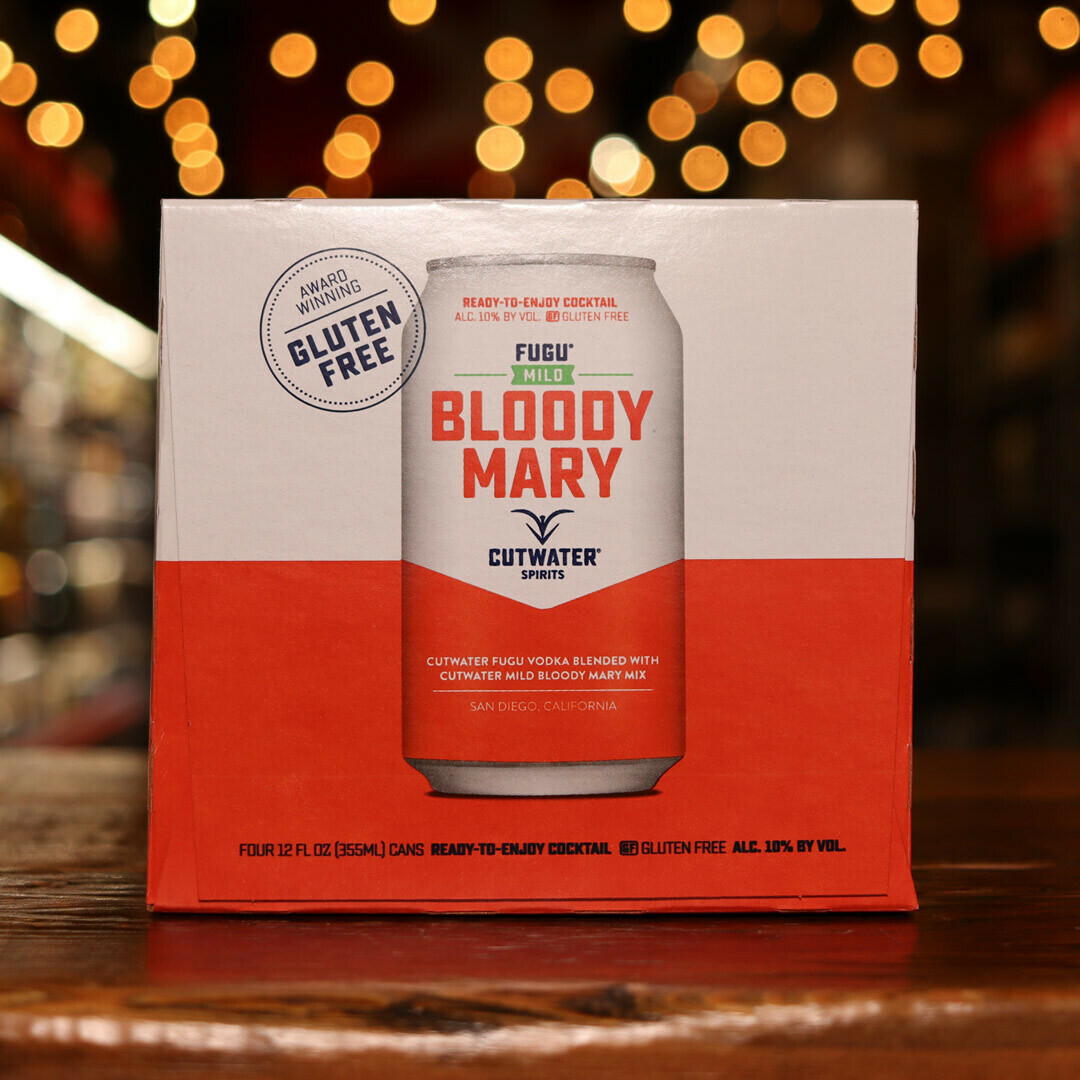 Cutwater Bloody Mary Mild 12 FL. OZ. 4PK Cans