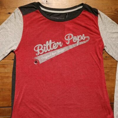 Bitter Pops Baseball Shirt
