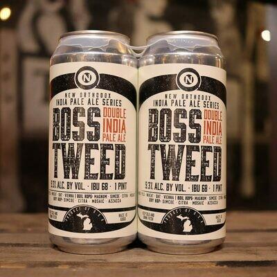 Old Nation Boss Tweed DIPA 16 FL. OZ. 4PK Cans
