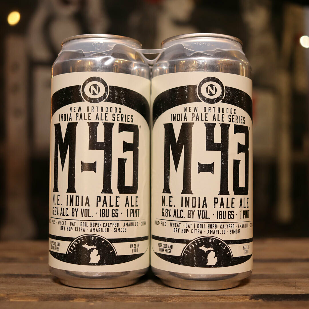 Old Nation M-43 NEIPA 16 FL. OZ. 4PK Cans