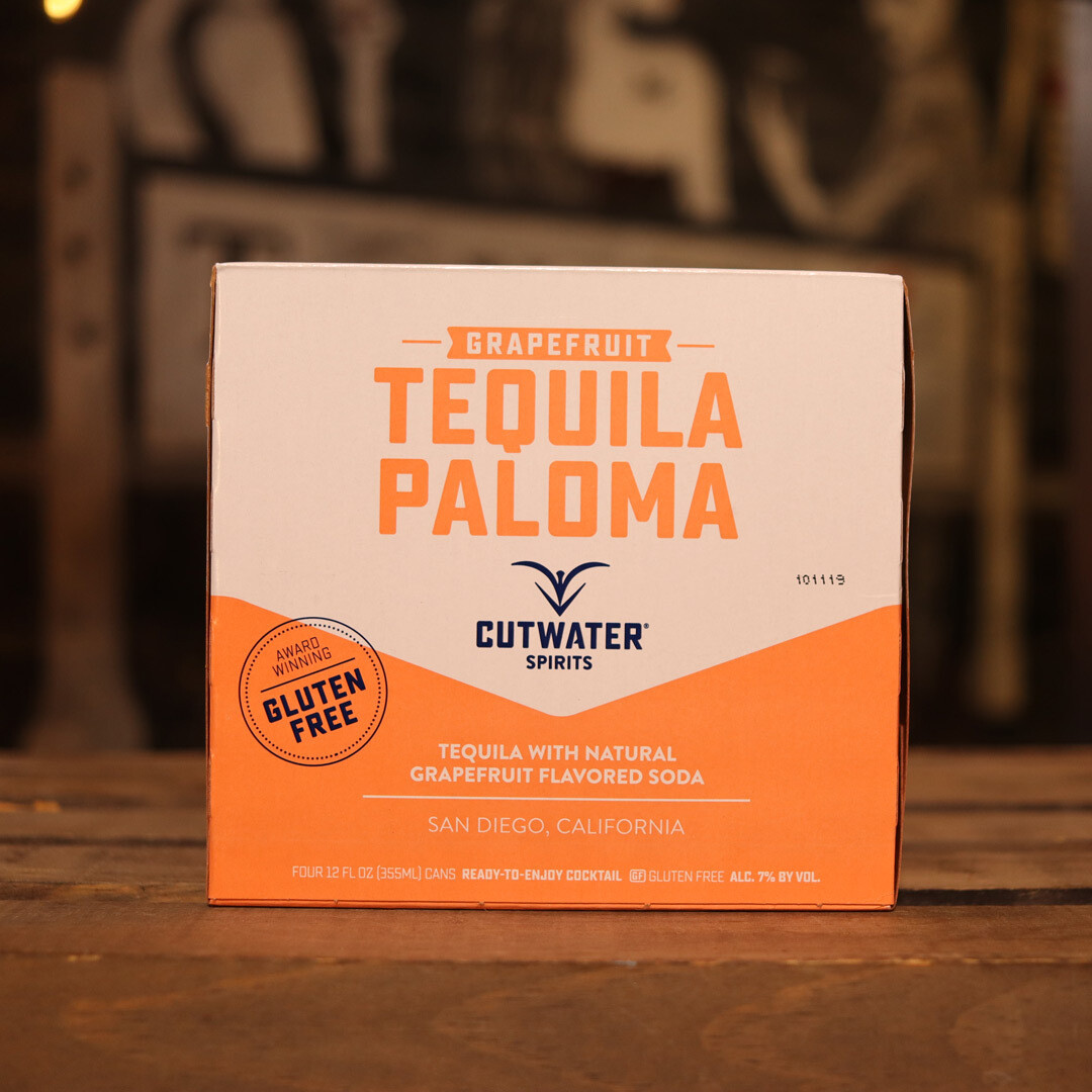 Cutwater Tequila Paloma 12 FL. OZ. 4PK Cans