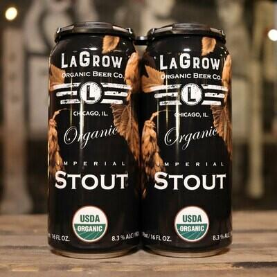 LaGrow Organic Stout 16 FL. OZ. 4PK Cans