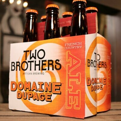 Two Brothers Domaine Dupage French Country Ale 12 FL. OZ. 6PK