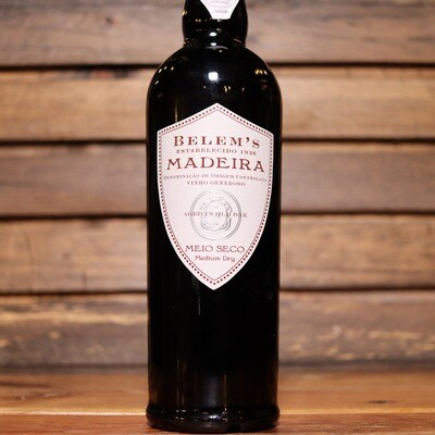 Belem's Madeira Meijo Seco Medium Dry Sherry 500ml