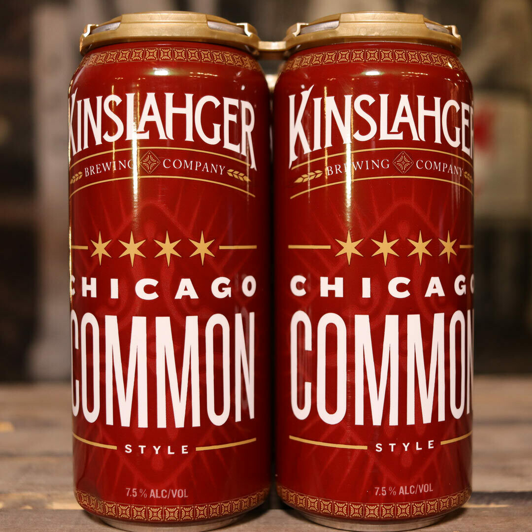 Kinslahger Chicago Common 16 FL. OZ. 4PK Cans