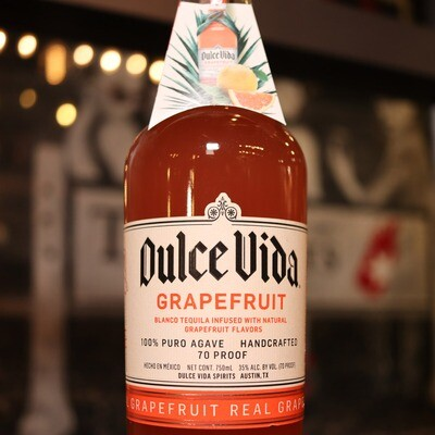 Dulce Vida Grapefruit Tequila 750ml.
