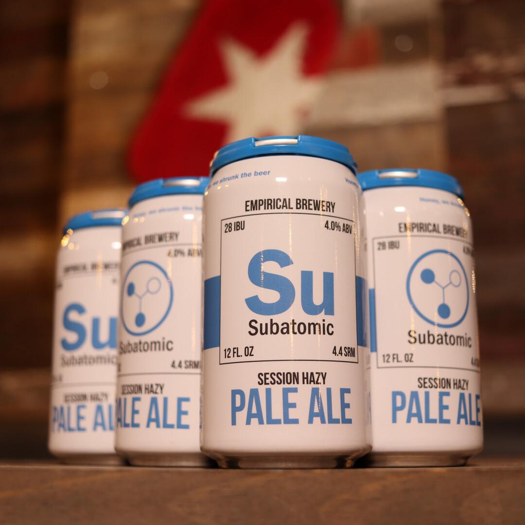 Empirical Subatomic Session Hazy Pale Ale 12 FL. OZ. 6PK Cans