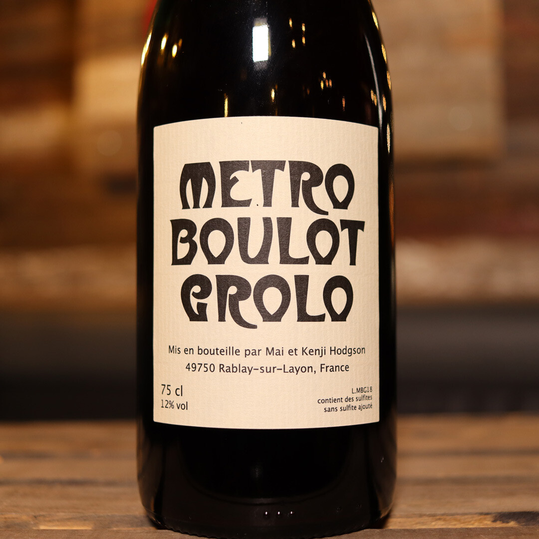Metro Boulot Grolo Hodgson Loire Valley France 750ml