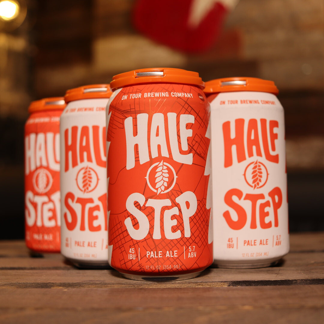 On Tour Half Step Pale Ale 12 FL. OZ. 6PK Cans