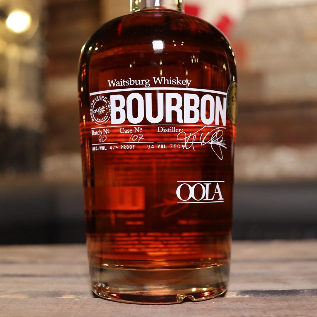 OOLA Waitsburg Bourbon Whiskey 750ML