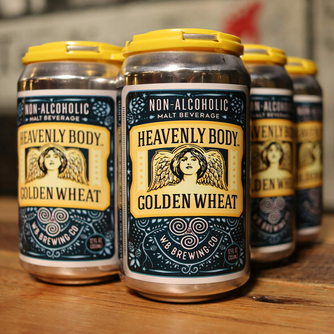 Well Being Heavenly Body Non-A Golden Wheat 12 FL. OZ. 6PK Cans