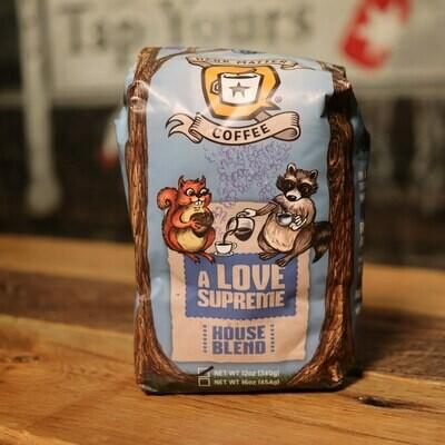 Dark Matter A Love Supreme Whole Bean House Blend 12oz Bag