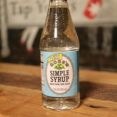 Rose's Simple Syrup 12 FL. OZ.