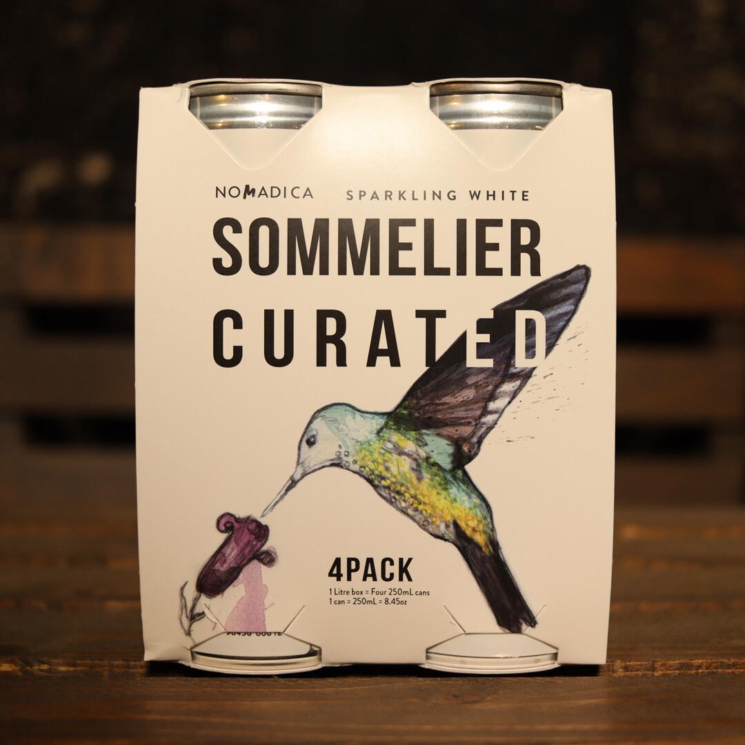 Nomadica Sparkling White (Malvasia/ Chardonnay) California 8 FL. OZ. 4PK Cans