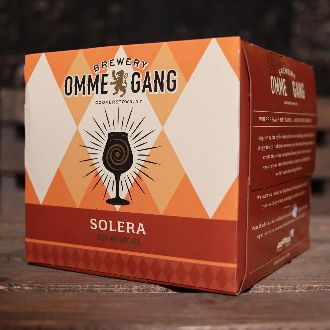 Ommegang Solera Tart Golden Ale 12 FL. OZ. 4PK Cans
