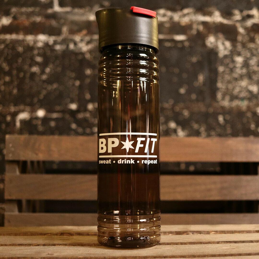 Bitter Pops BP FIT Water Bottle BPA Free Plastic 20oz