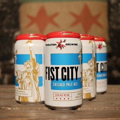 Revolution Fist City Pale Ale 12 FL. OZ. 6PK Cans