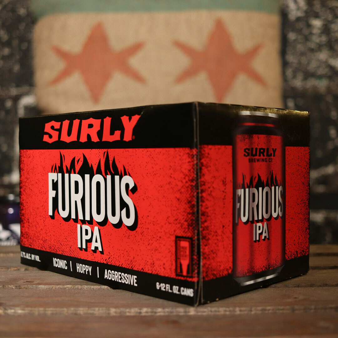 Surly Furious IPA 12 FL. OZ. 6PK Cans