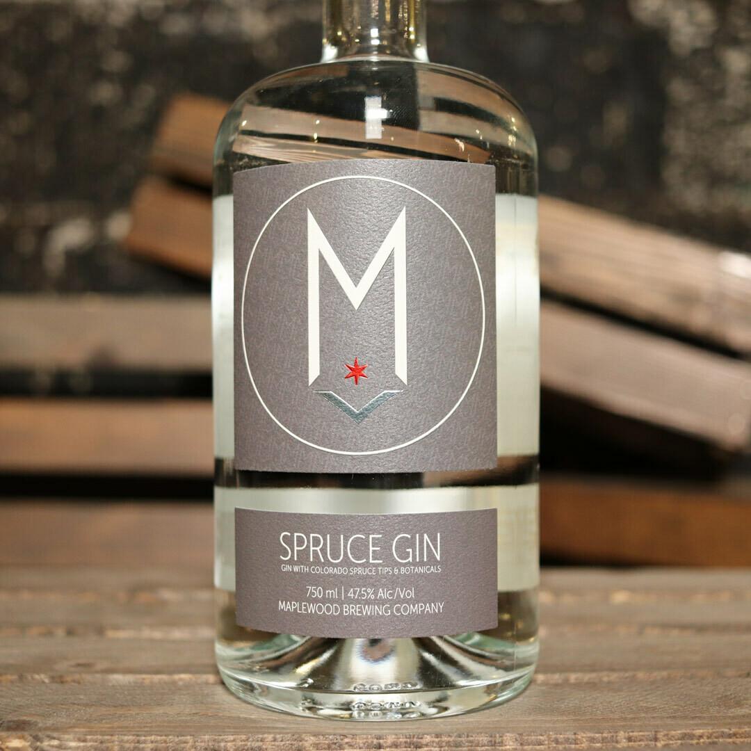 Maplewood Spruce Gin 750ml.
