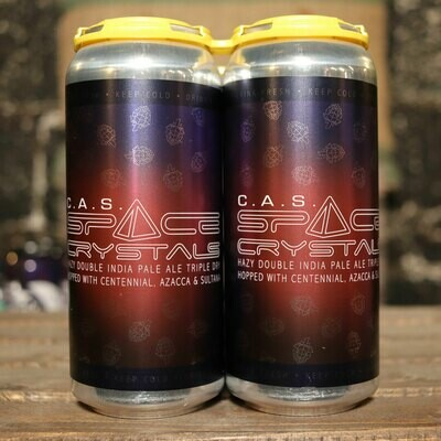 Lil Beaver C.A.S. Space Crystals DIPA 16 FL. OZ. 4PK Cans