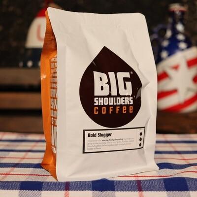 Big Shoulders Bold Slugger WHOLE BEAN 12 OZ. BAG