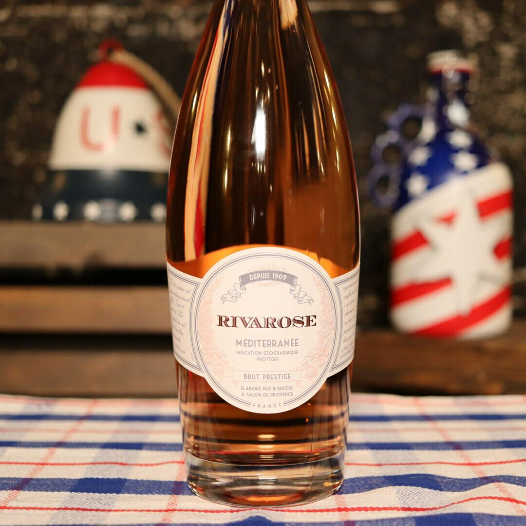 Rivarose Rosé Brut France 750ml.