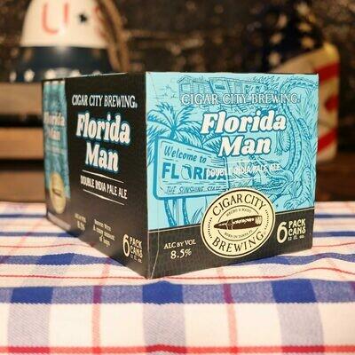 Cigar City Florida Man DIPA 12 FL. OZ. 6PK Cans