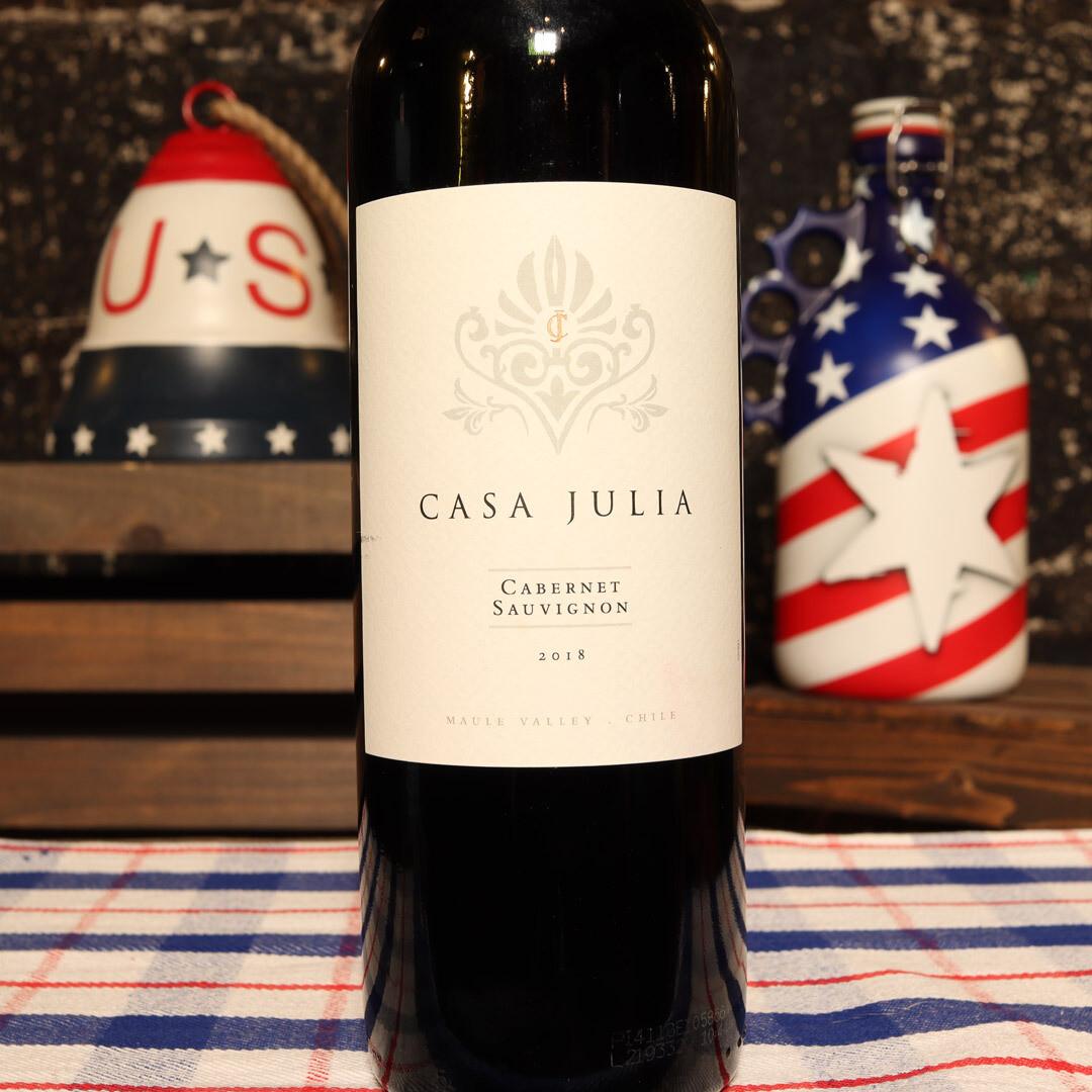 Casa Julia Cabernet Sauvignon Chile 750ml.