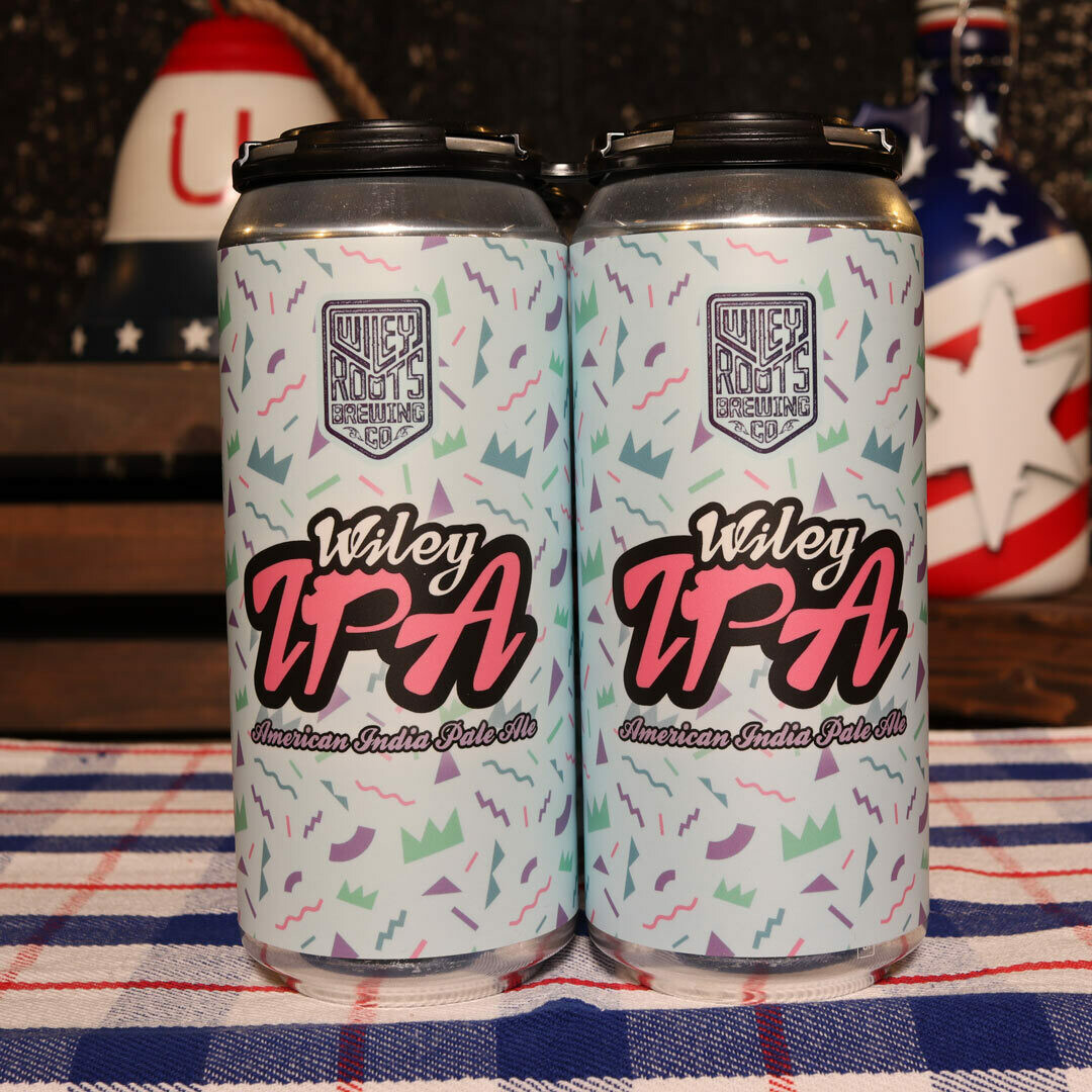 Wiley Roots Wiley IPA 16 FL. OZ. 4PK Cans
